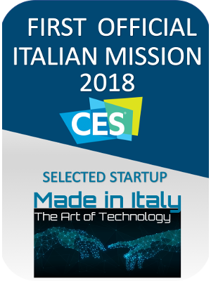 Selected for first italian startups CES exhibition